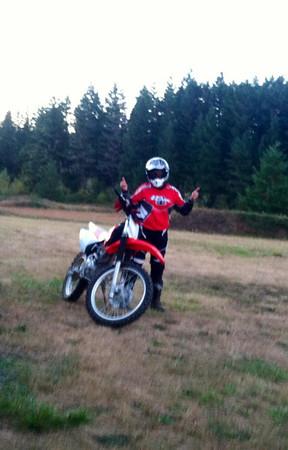 201 Brads BBQ and dirt bike riding