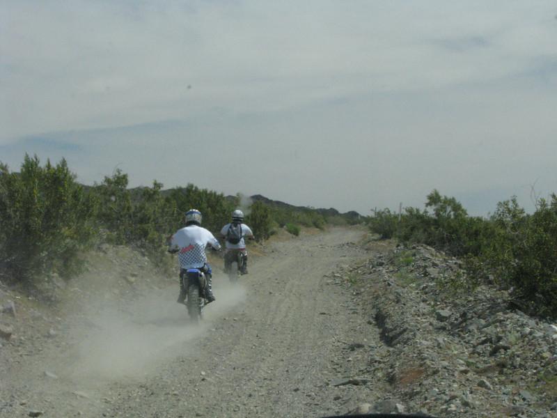 More dirt riders.