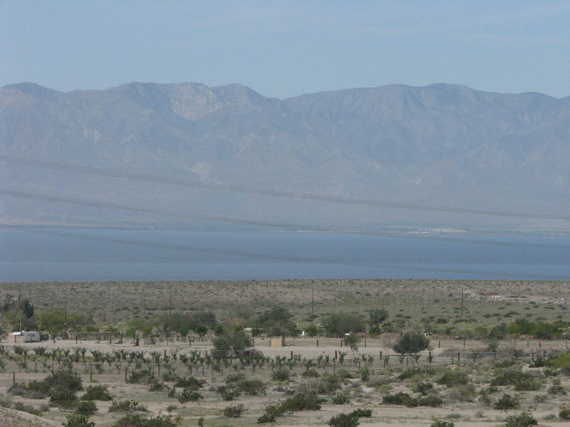 A good view of the Salton Sea to the west of us.