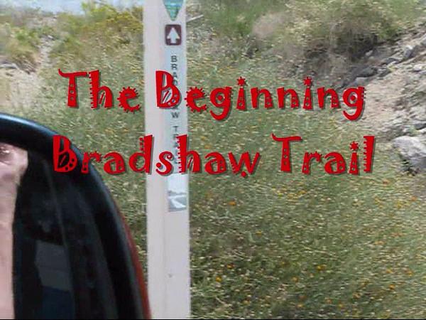 The Beginning,The Bradshaw Trail