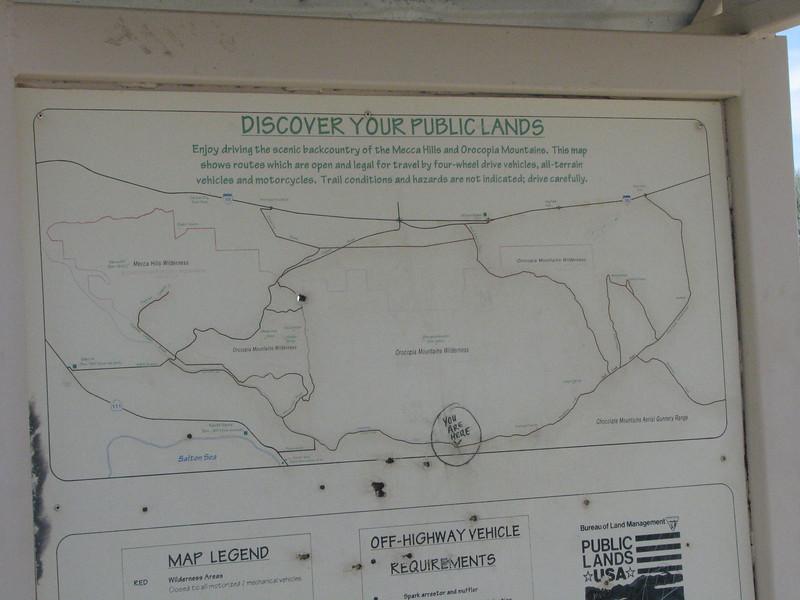 Bradshaw Trail signage.