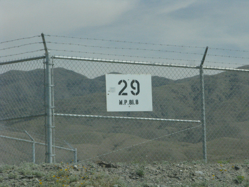 Our travel along  Coachella Canal rd ended with a closed gate.