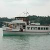 "ferryboat ""Scherri"" at lake Schermützelsee / Buckow"