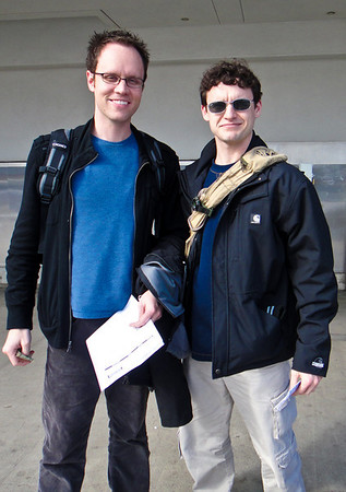 Brandon & Dan in Europe 2011