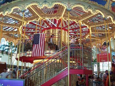 Brandon's Westfield Mall's Carousel