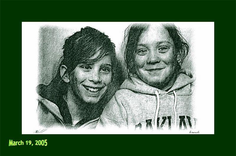 Hannah & Madi - March 19, 2005