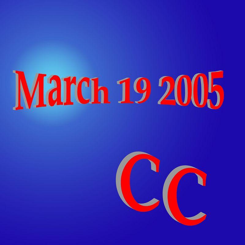 Branson - CC - March 19, 2005
