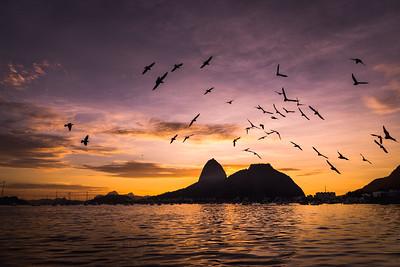 Dawn @ #Botafogo #Beach - #RiodeJaneiro #Brazil