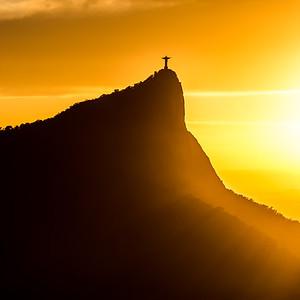 Statue of Christ the Redeemer - Rio de Janeiro - Brazil