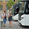 Tour guides for our bus and walking tour of Bratislava.