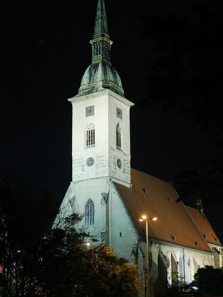 The Blue Church in Bratislava sits on a hill and takes your breath away.  Designed by Budapest architect Edmund Lechner. It's consecrated to Saint Elisabeth of Hungary, who was born in the Bratislava Castle. On the facade of the church there is a mosaic of Saint Elisabeth with roses, according to the legend of her life. Painting of Saint Elisabeth is also on the main altar.