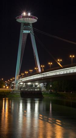 UFO Tower on the SNP Bridge