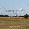 A wind power farm in the countryside outside Bratislava, Slovakia.