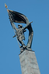 Slavín war memorial for Soviet troops killed in WW2.