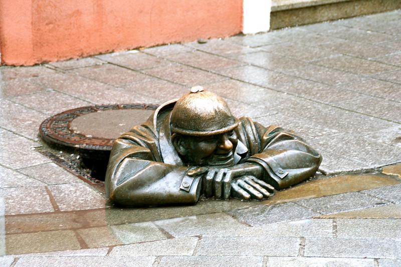 The 'peeping tom' of Bratislava