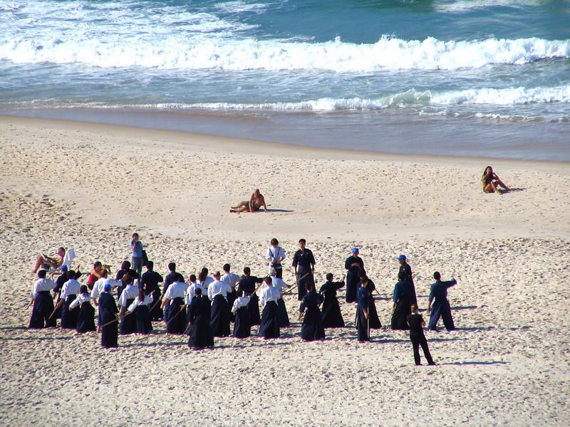 112 Class on Ipanema Beach