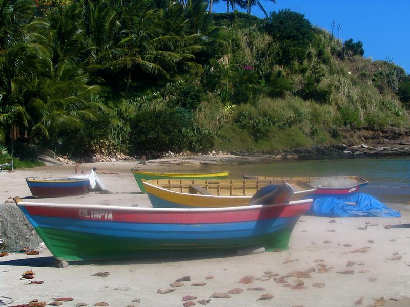 107 Fishing Boats in Buzios