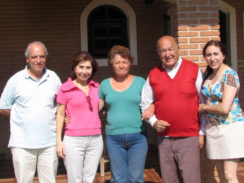 with Maria and Armando