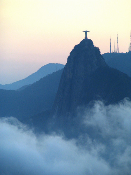 Corcovado from Sugarloaf