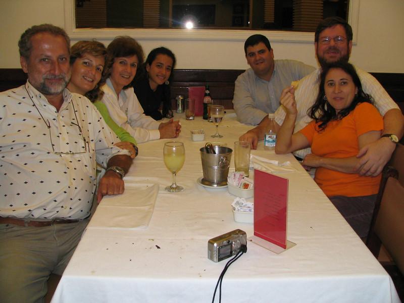 Elias, Marcia, Sonia, Maria, and Gabriel