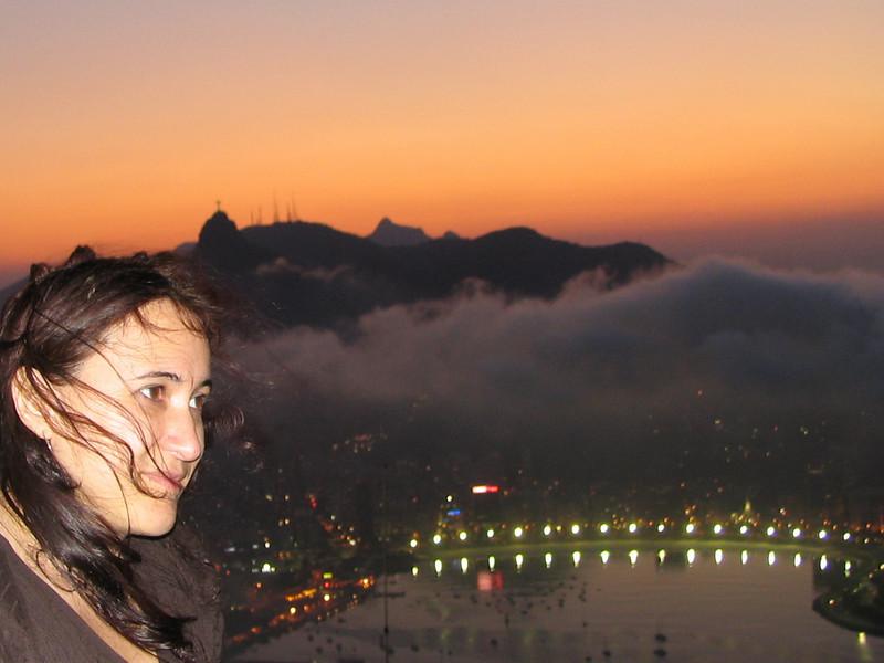 Sunset above Rio
