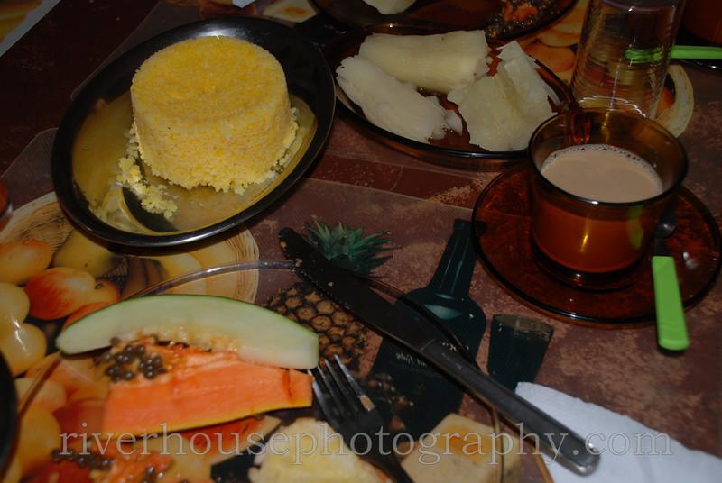 Breakfast at Pousada Verde. WOW.