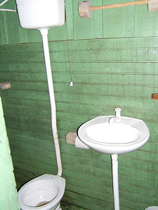 Day 2 - Manaus - Our lovely bathroom.