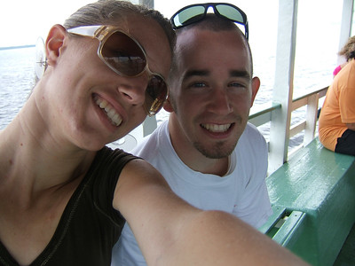 Day 2 - Manaus - Wasting time on our super slow boat...