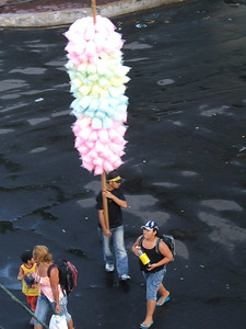 Day 2 - Manaus - Cotton candy, anyone?