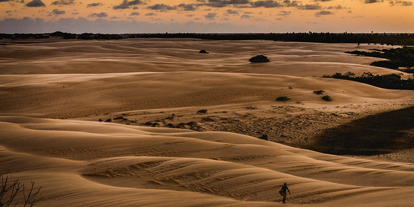 #Dunes at the #mouth of #SaoFrancisco #River