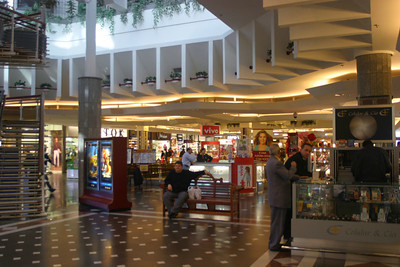One of the shopping malls we stopped in for food.  They had a hypermart in there which sold everything from chicken to lawn mowers.