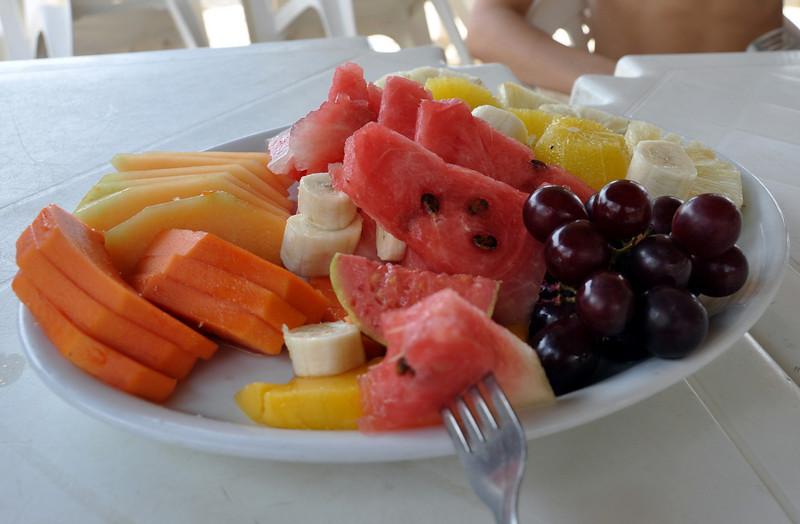 Fortaleza, Brazil -- Playa Futuro  -- Breakfast!