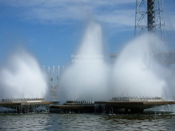 Fountain at the Brasilia TV Tower
