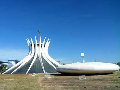 Metropolitan Cathedral with Baptistry Brasilia
