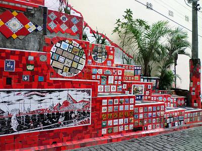 Escadaria Selarón in Rio de Janeiro