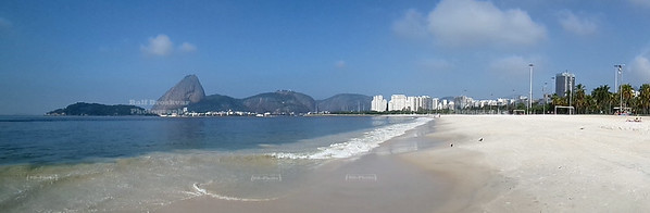 Flamengo Beach panorama