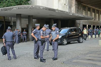 Police in Sao Paulo