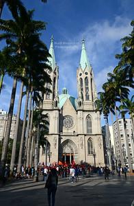 Metropolitan Cathedral in São Paulo, Brazil