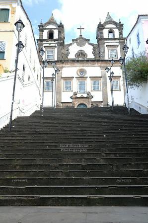 Escadaria da Igreja do Paço