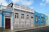 Pastel hued buildings in Salvador