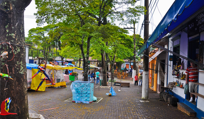 Rainy Day in Embu São Paulo