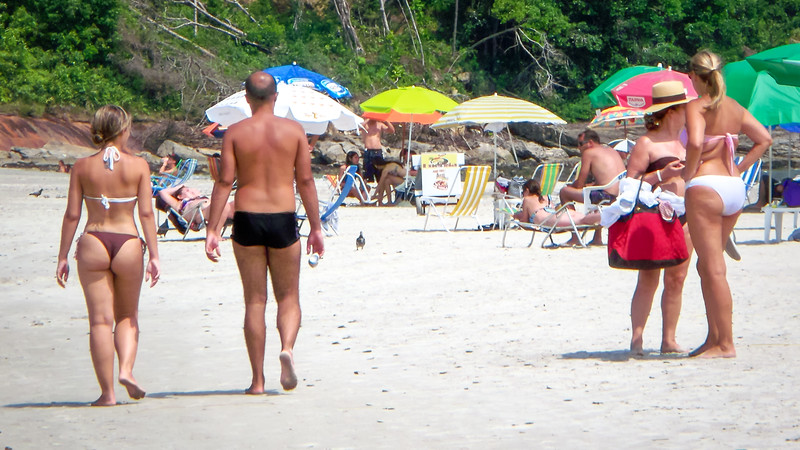 Beach at Guarujá