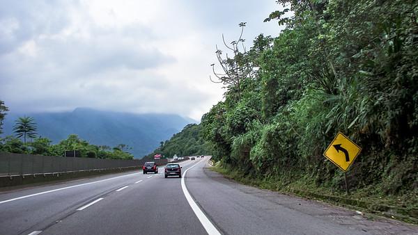 Brazil Highway Scenes