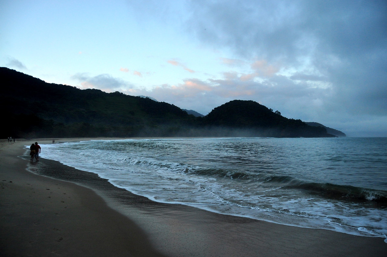 Praia Felix at sunset