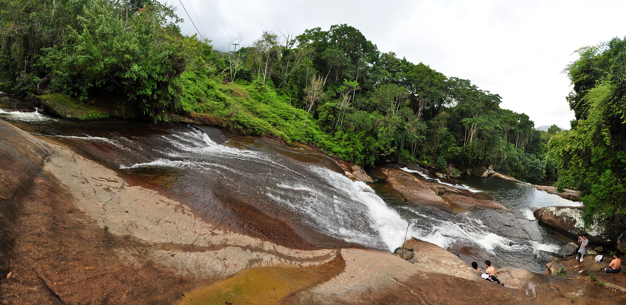 Cachoeiras de Prumirin (?), falls by the side of 101 road