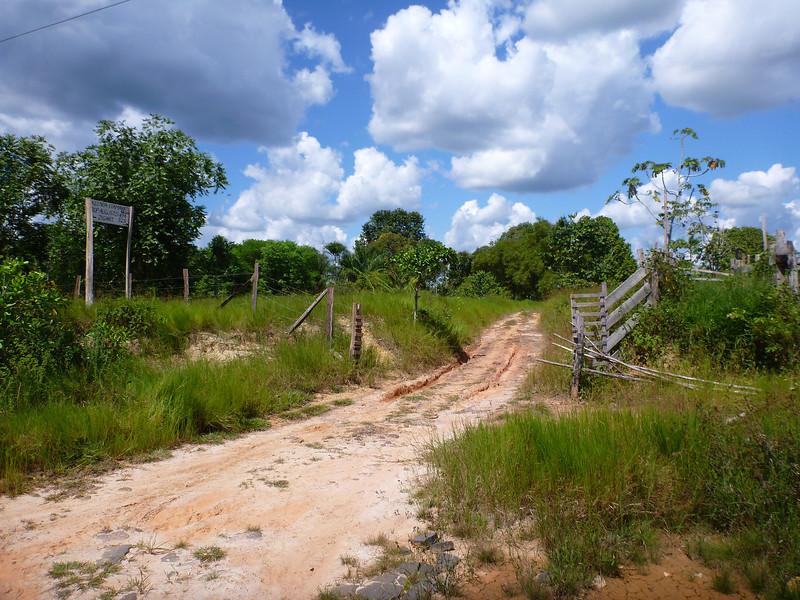 One of the few fazendas on BR-319, Rodavia Fantasma, on the way to Manaus