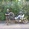 Mike on BR-319, Rodavia Fantasma, on the way to Manaus