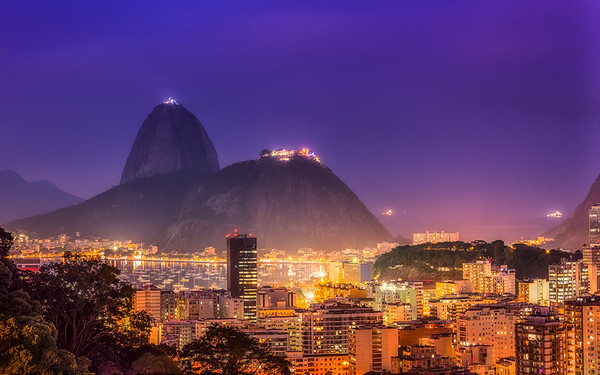 Million Dollar View from the Favela