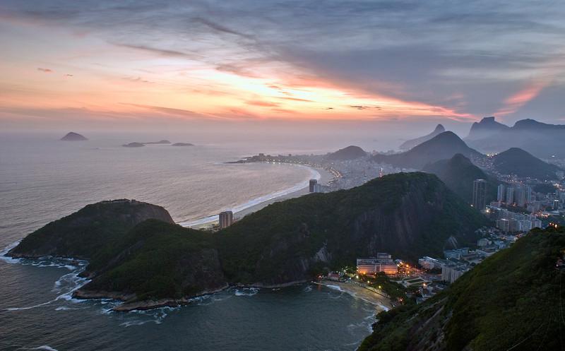 Cobacabana, Rio De Janero.