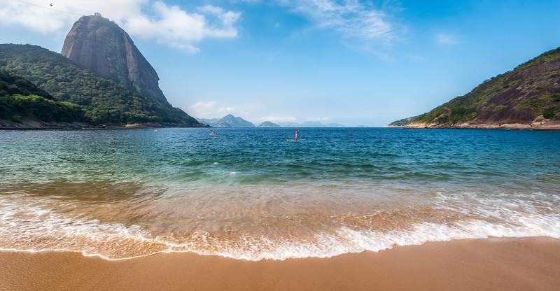 Perfect Day at Praia Vermelha in Rio